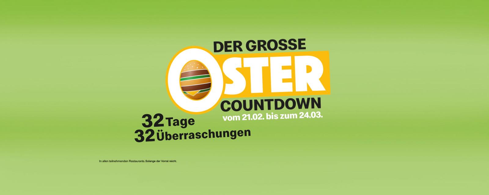 Der Große Oster Countdown!