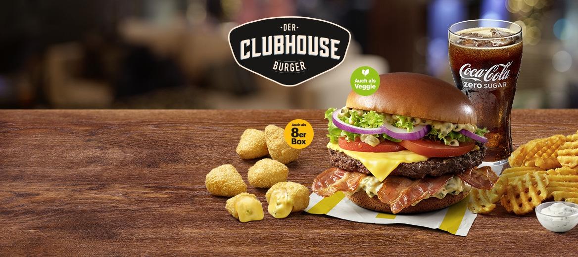 Der Clubhouse Burger ist zurück!