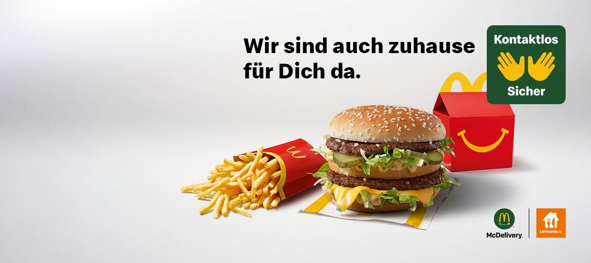 Dein McDonald's Lieferservice