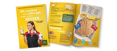 McDonald's reduziert Verpackungsmüll