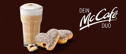 Hot und sweet: das McCafé® Traum-DUO