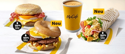 McDonald's macht den Morgen